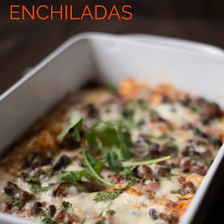 Ground Beef Enchiladas