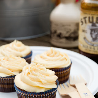 BBQ Maple Syrup Cupcake