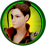Lady Warrior – Street Combat Fighting Game Icon