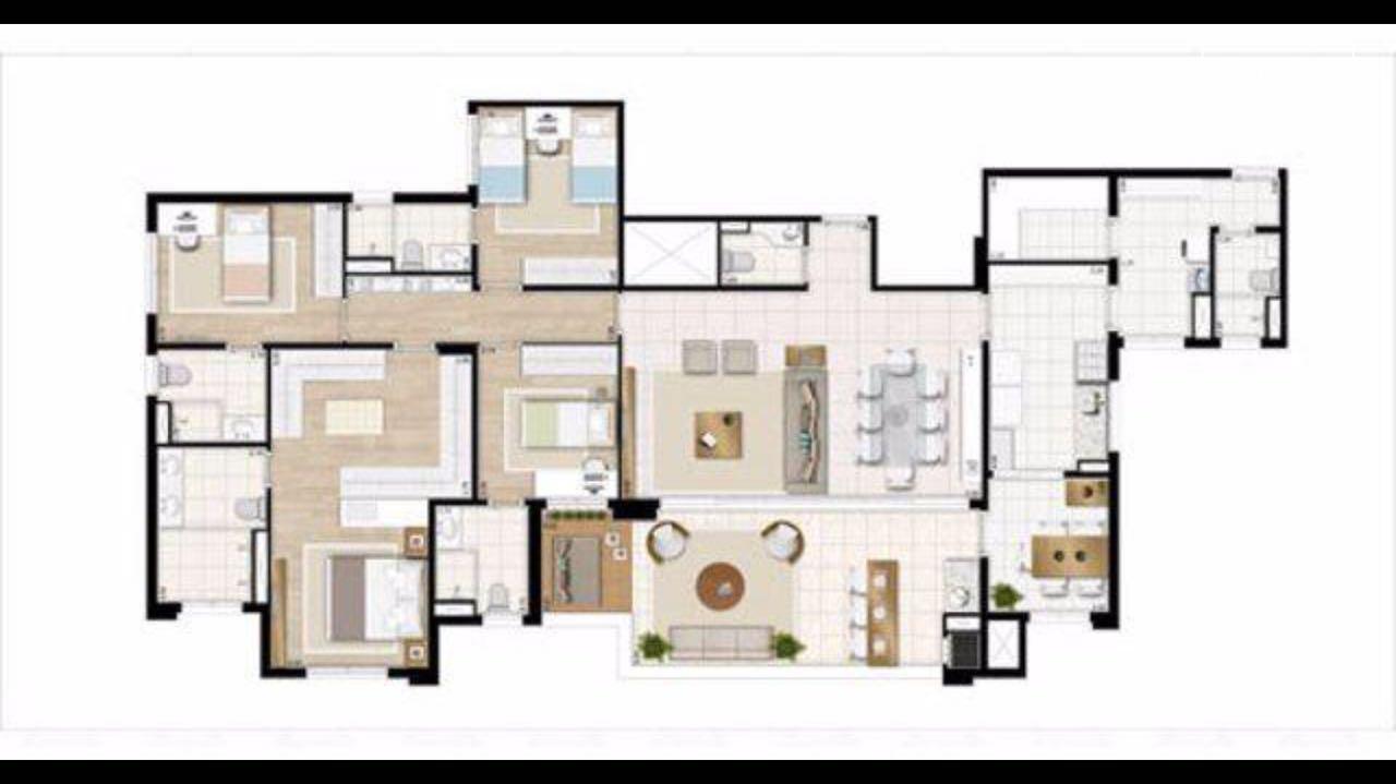 Apartamento de 4 dormitórios à venda em Santo Antônio, São Caetano Do Sul - SP