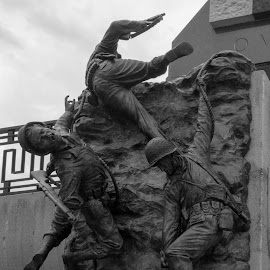 Sculpture at the National D-Day Memorial by Judy Rosanno - Buildings & Architecture Statues & Monuments