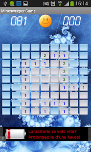 Minesweeper - Android game - screenshot