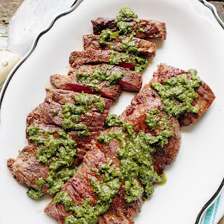 Skirt Steak with Chimichurri