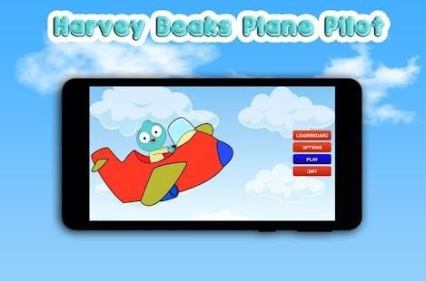 Harvey Beaks Plane Pilot - screenshot