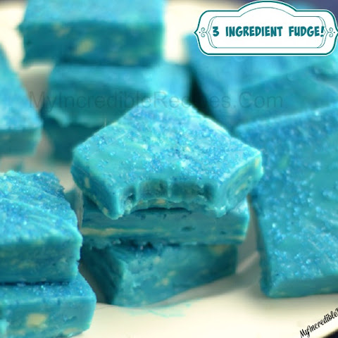 3 Ingredient Fudge! – Make Any color!