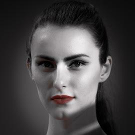Portrait by Amit Karn - People Fashion ( portraiture, model, fashion, woman, modelling, fashion photography, women, photography, portrait )