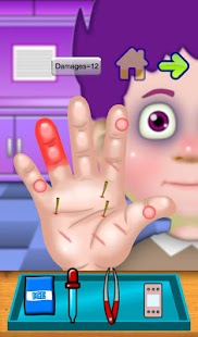 Hand Doctor Clinic Kids Games - screenshot