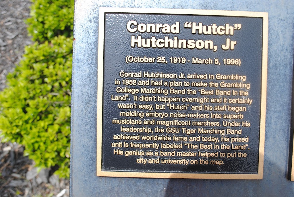 Conrad Hutchinson Jr. arrived in Grambling in 1952 and had a plan to make the Grambling College Marching Band the