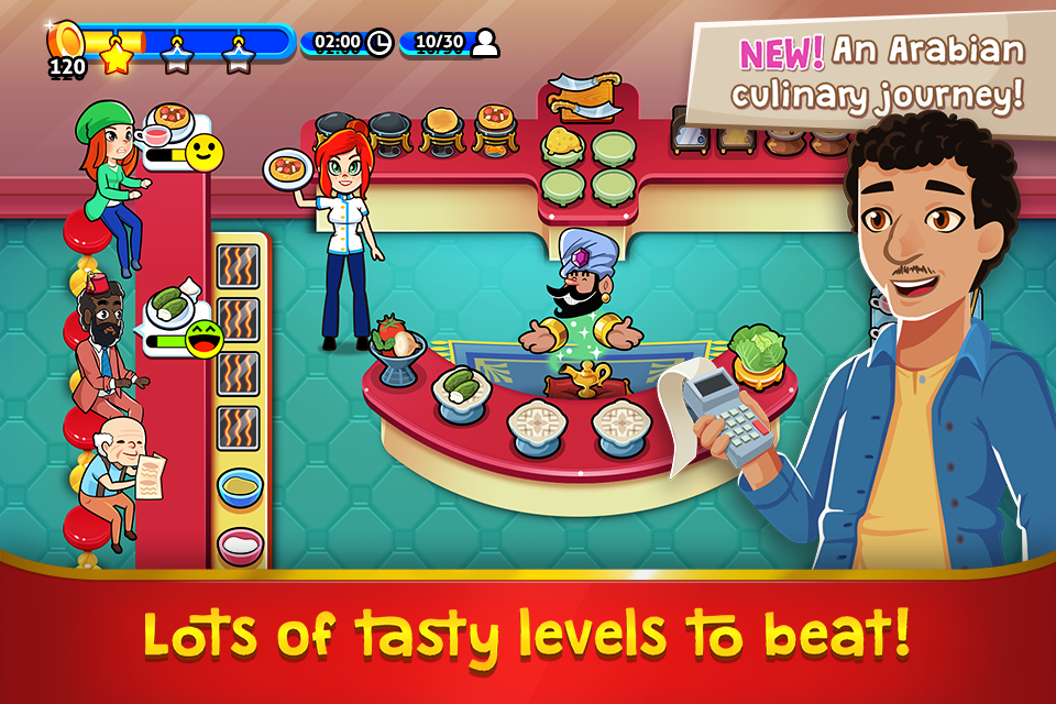 Chef Rescue - The Cooking Game Screenshot 1