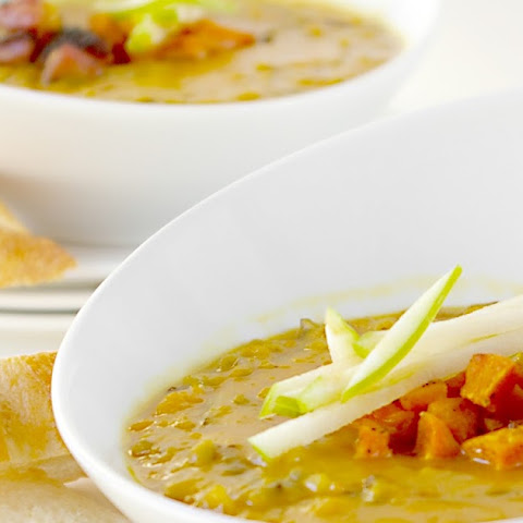 Curried Squash and Wild Rice Soup