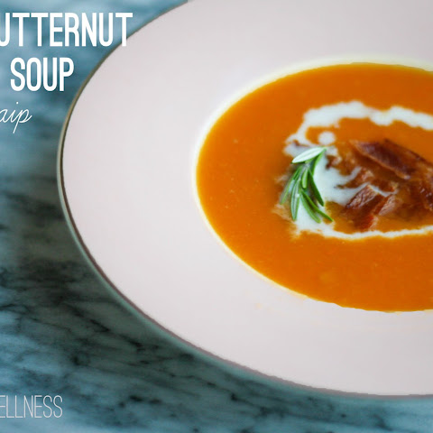 Easy Butternut Squash Soup (AIP, Paleo )