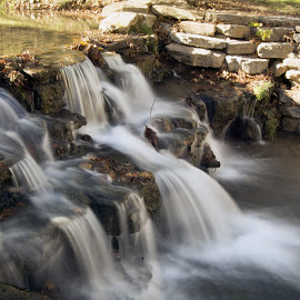 watefall by Jason Jeep Rutter - Landscapes Waterscapes