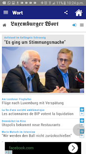 Luxembourg News - Latest News - screenshot