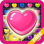 Candy Frenzy Valentine Hearts APK Image