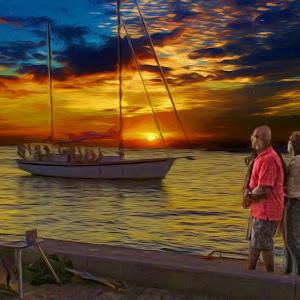 DSCF5981_Key West Sunset Impressions_16x20.jpg