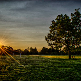 Morning Stanley by Jason Weagle - Landscapes Sunsets & Sunrises ( hdr )