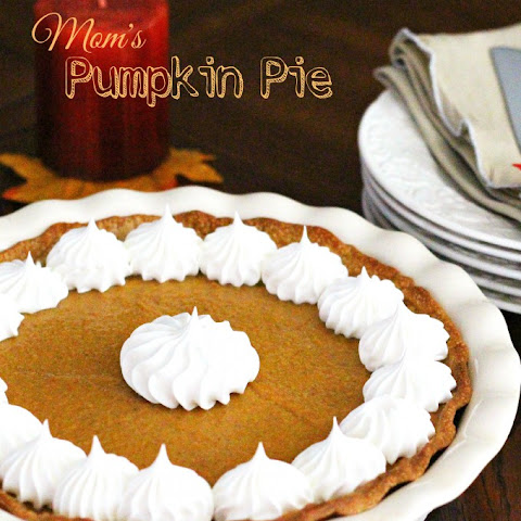 My Mom's No Bake Pumpkin And Sweet Potato Pie