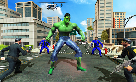 Incredible Monster : Superhero City Escape Games for pc