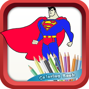 SuperHeroes Coloring Book APK