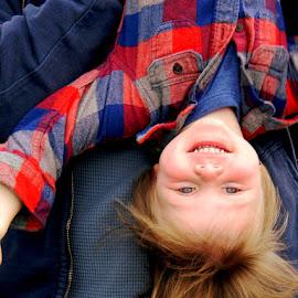 Fischer Upside down by Liz Hahn - Babies & Children Children Candids