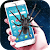 Real Spider Crawl In Screen Prank file APK Free for PC, smart TV Download