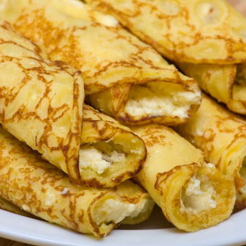 Passover Cheese Blintzes