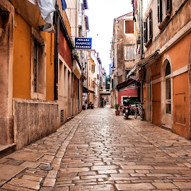 by Eseker RI - City,  Street & Park  Street Scenes ( croatia, rovinj )