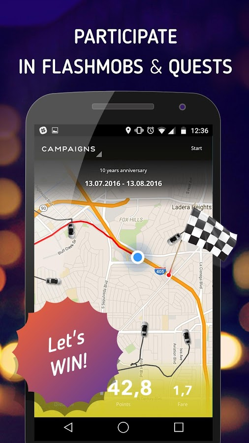StickerRide – Drive and Earn Screenshot 2