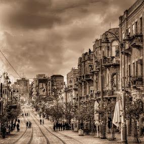 by Romel Pineda - City,  Street & Park  Street Scenes