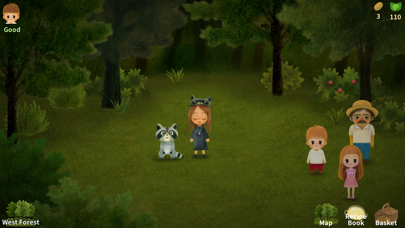 A Tale of Little Berry Forest: Fairy tale game Screenshot 1