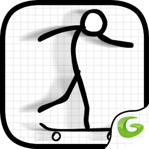 Awesome Skater Stickman