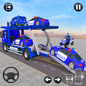 Grand Police Transport Truck for pc