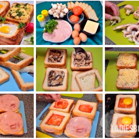 Unusual And Delicious Sandwiches For Breakfast