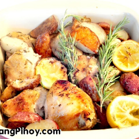 Baked Garlic Rosemary Chicken