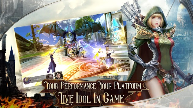 Immortal Thrones-3D Fantasy Mobile MMORPG APK screenshot thumbnail 5