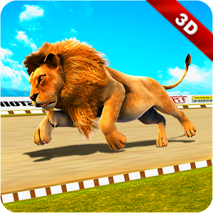 Download Wild Lion Racing Fever : Animal Race For PC Windows and Mac