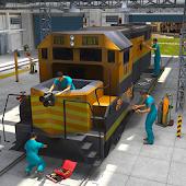 Game Train Repair Mechanic Garage APK for Kindle