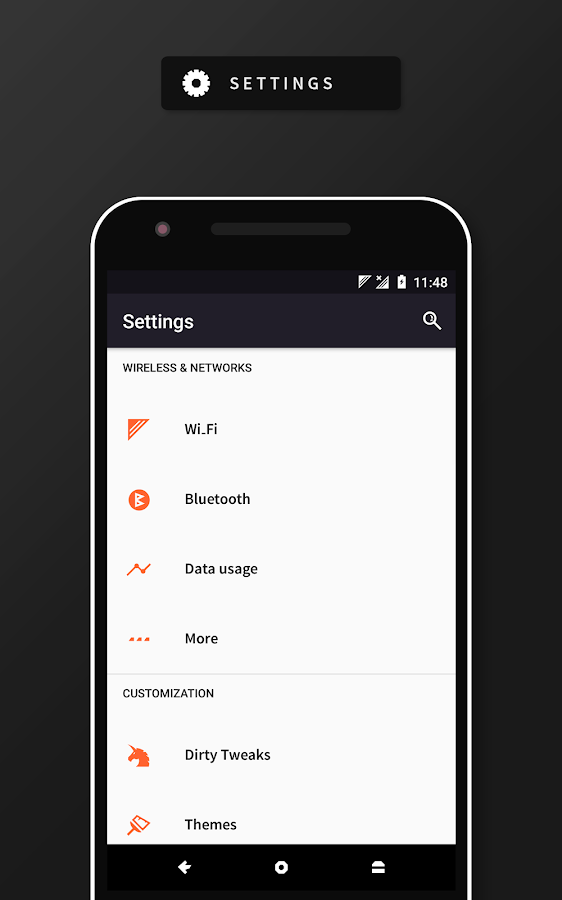 RubiQ Substratum Theme Screenshot 1