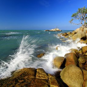 Bangka Island by Endy Wiratama - Landscapes Waterscapes ( water, bangka, indonesia, rock, travel, beach, landscape )