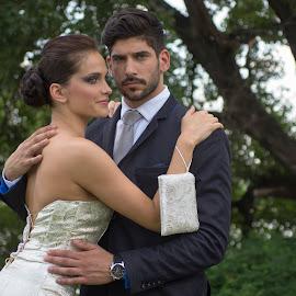 BP  by Csaba Kabátka - Wedding Bride & Groom ( bcslight, sony, elegant, outdoor, summer, bcs, bride, light, groom )