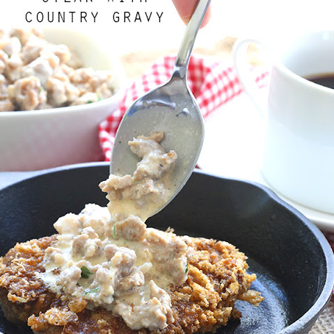 Chicken Fried Steak with Country Gravy – Primal Low Carb Kitchen ...
