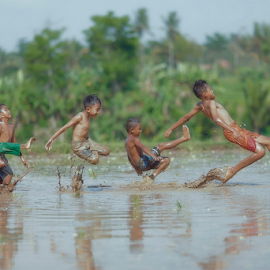 football at the mud by Adam Bishawa - Babies & Children Children Candids