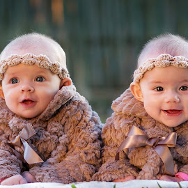Twins by Lyndie Pavier - Babies & Children Babies