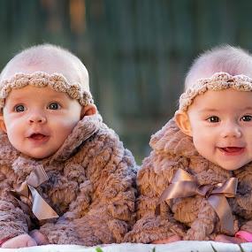 Twins by Lyndie Pavier - Babies & Children Babies (  )