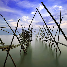 Waterscape by Fairuzee Ramlee - Landscapes Waterscapes ( nature, waterscape, cloud, slowshutter, landscape )