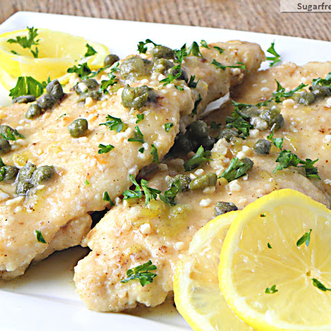 Low Fat Chicken Piccata [Gluten Free]
