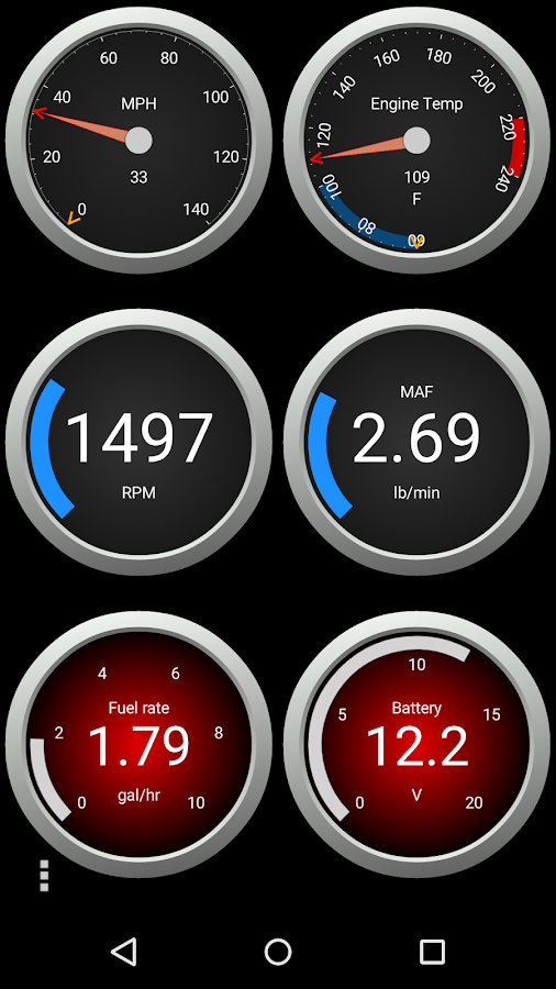 OBD Fusion (Car Diagnostics) Screenshot 1