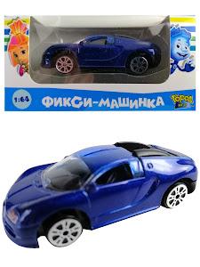 """Машинка гоночная """"Фиксики"""" 1:64 Нолик 13"""