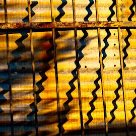 Zig-Zag by Myra Brizendine Wilson - Abstract Patterns ( pattern, junkyard photo shoot, nc, gas pump, junkyard, cpmg meetup, old cars, old signs, antiques, junk,  )
