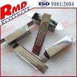 99.95% High Purity Mo1 Customized Folding Evaporation Molybdenum Boat/box
